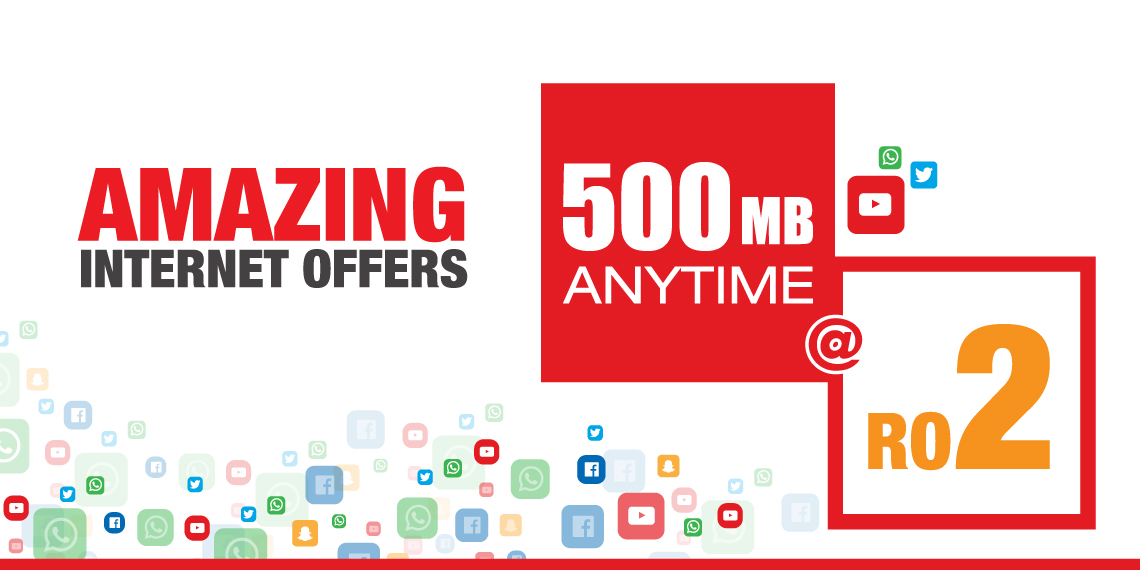500MB@2RO for 2 Weeks